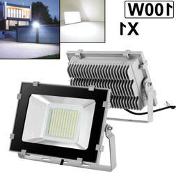 100W LED Flood Light VIUGREUM Cool White Outdoor Spotlight G