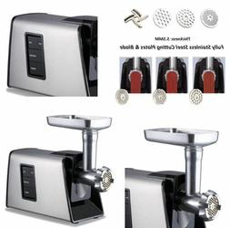 Electric Meat Grinder 3 Stainless Steel Blades For Home Use