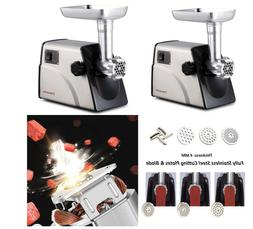 Electric Meat Grinder Stainless Steel Blade Plates Machine F