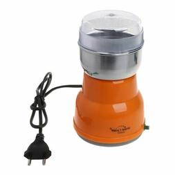 electric stainless steel coffee bean grinder home
