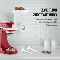 Antree Food Grinder and Sausage Tube Attachment for KitchenA