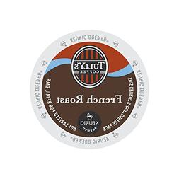 Tully's French Roast Coffee, K-cups, 24 ea