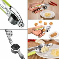 Garlic Press Grinder Crusher Cutter Squeezer Home Kitchen Pr