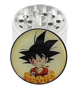 GOKU Dragon Ball Z - 2.0 4 Layer Aluminum Herb Spice Grinder