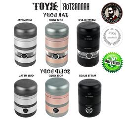 Kannastor GR8TR V2 JAR AND SOLID Body Grinder  w/ Easy Chang