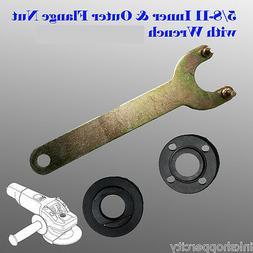 Grinder 5/8-11 Flange Lock Nut Wrench for Dewalt Milwaukee M