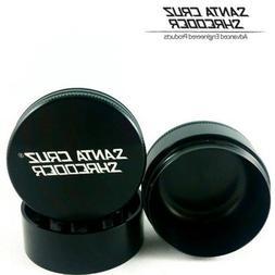 "SANTA CRUZ SHREDDER - LARGE 3 PIECE GRINDER BLACK 2.75"""