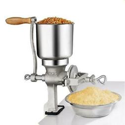 Grinder Corn Coffee Wheat Manual Hand Grains Iron Nut Mill C