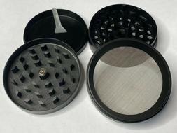 Grinder Herb Spice Tobacco 4 Piece Crusher Metal Alloy Smoke
