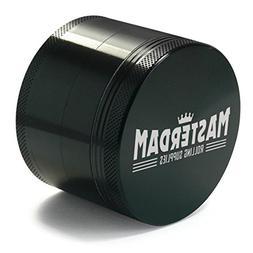 Masterdam Grinders Premium Large 2.5 Inch Herb Grinder with