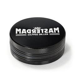 Masterdam Grinders 2-Piece Anodized Aluminum Herb Grinder -