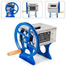 Hand-cranked Meat Grinder Slicer Meat Cutting Machine Manual