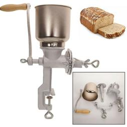 Hand Grinder Manual Iron Nut Mill Corn Coffee Wheat Cereal L