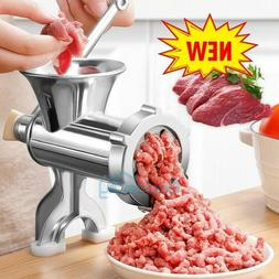 Heavy Duty Meat Grinder Mincer Stuffer Manual Sausage Filler