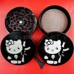 "Hello Kitty Herb Grinder Large Custom Grinder 63mm 2.5"" Puni"