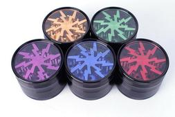 "Herb grinder by lightning, 2 1/2"" alum 4 piece US SELLER S"