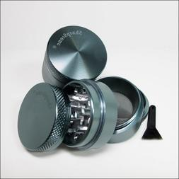 Sharpstone Herb Grinder Small Grey 4 Piece and a Cali Crushe