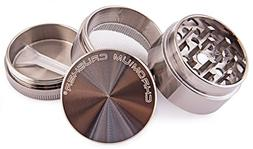 Herb Grinder Space Case Top Magnetic Tobacco Multi 2.5 Inch