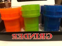 HERB  Grinder Spice Plastic different color