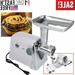 Home 600W Electric Meat Grinder Kit Kitchen Food Sausage Stu