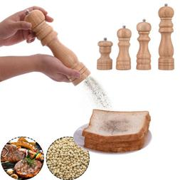 Home Kitchen Classical Wooden Pepper Spice Salt Mill Grinder