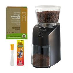 Capresso Jura Infinity 560 Conical Burr Coffee Grinder - Bla