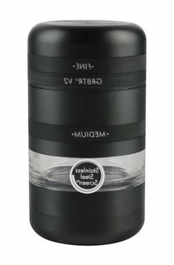"Kannastor GR8TR V2 Grinder Jar Body - 2.2""/Black"