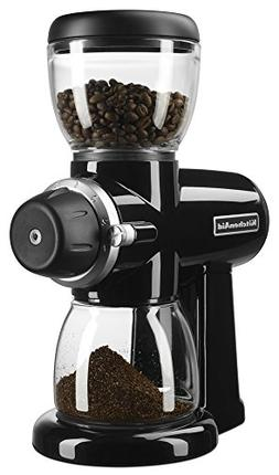 New KitchenAid KCG0702OB Burr Coffee Grinder stainless steel