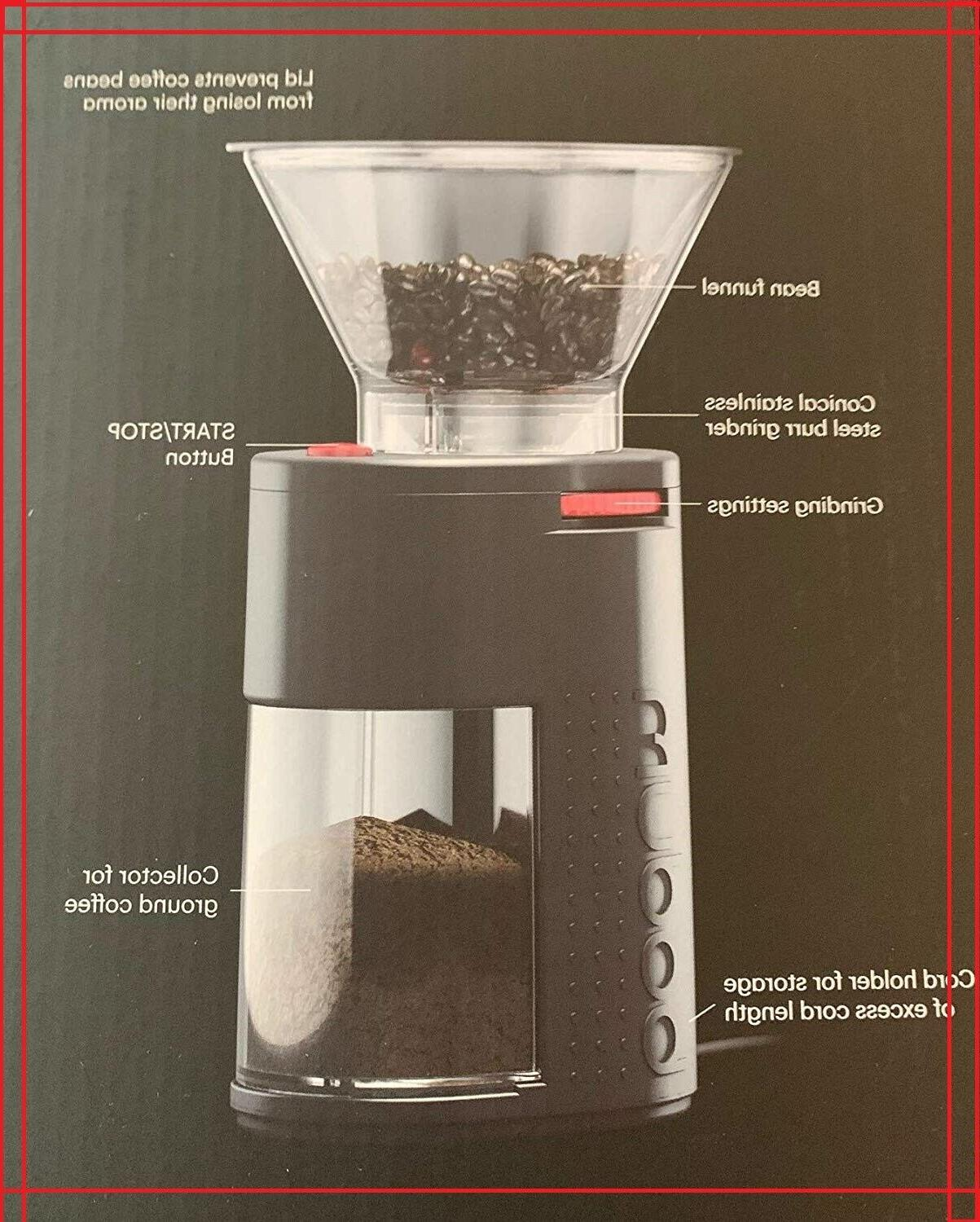 Bodum Coffee Grinder, One Black