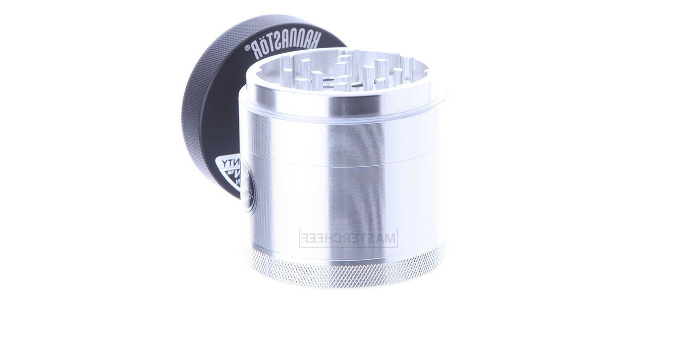 """Kannastor 2.2"""" Tobacco Herb Grinder Shredder - Removeable"""