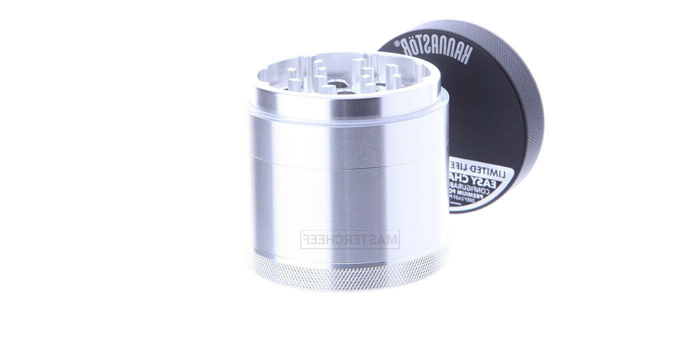Kannastor Tobacco Herb Shredder - Removeable