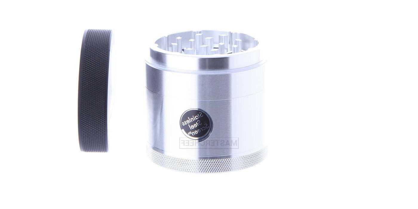 Tobacco Grinder - Removeable Screen