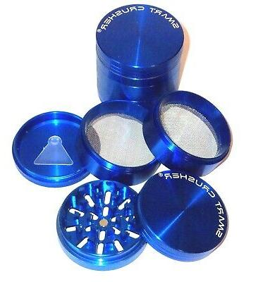 2.5 Inch Aluminum Large 5 Layer Tobacco Smoke Grinder Spice