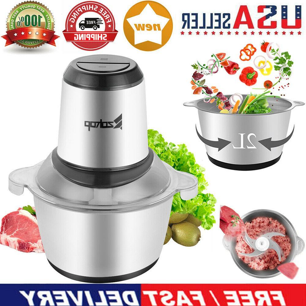 2l electric meat grinder home kitchen industrial