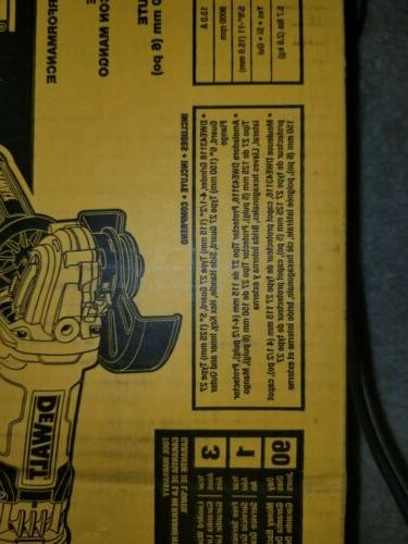 DEWALT inch GrinderDWE43116 Switch High Performance