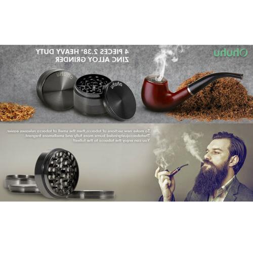 Ohuhu 4 Piece Spice Tobacco with 3 Zinc