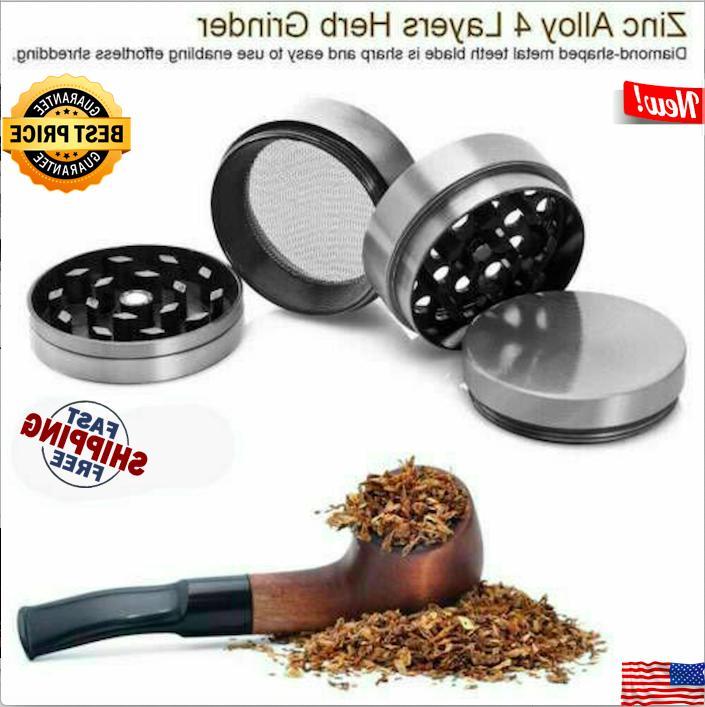 "Tobacco Herb Herbal Alloy Smoke Crusher 4 2"""