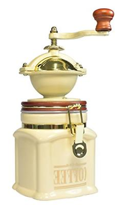 Bisetti 61531 Vivalto Coffee Grinder Cream