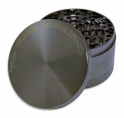 "Chromium Crusher 4.0"" Heavy Duty Durable Zinc Tobacco Spice"