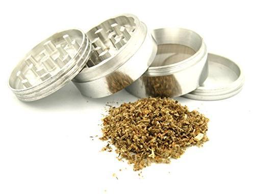 DIG Weed Indian Aluminum Spice Grinder Item #