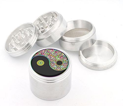 DIG Fashion Weed Indian Aluminum Herb Grinder Item #