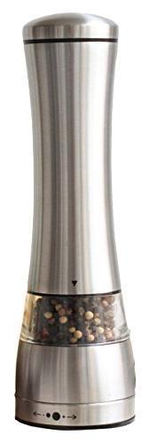 Sage Kitchenware MEC Stainless Steel Black Pepper or Salt Mi