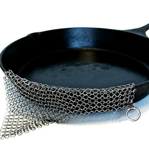 The Ringer - The Original Stainless Steel Cast Iron Cleaner,