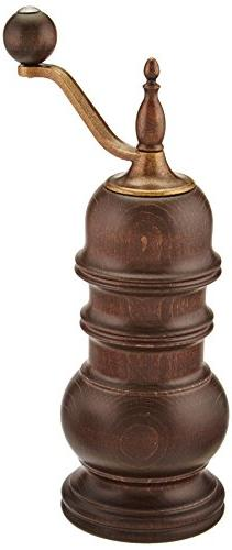 Zassenhaus Speyer 5.1-Inch Dark Stained Beech Pepper Mill