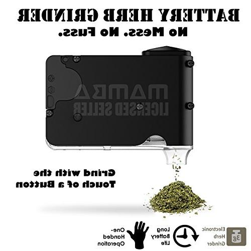 Chewy 420 Herb Grinder. Teenth Capacity. Grind. Store. Dispense