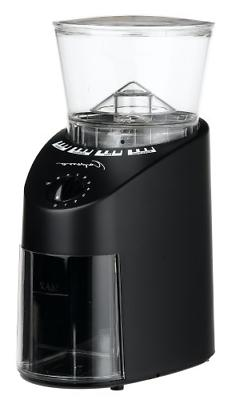 Black Infinity Conical Burr Grinder for Burr Coffee Grinders