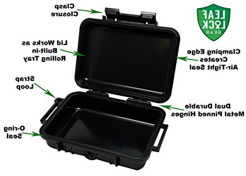 Bundle - Items - Rolling RAW Smoker's Kit - Includes Air Case, Rolling Papers, Cigarette Maker,
