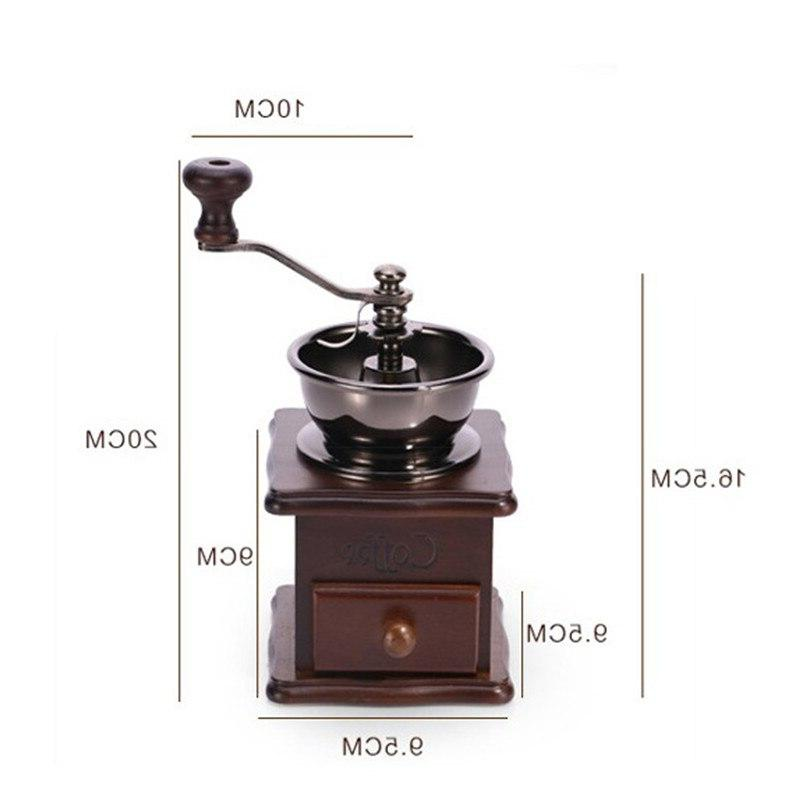 Top Manual Stainless Retro <font><b>Coffee</b></font> Spice Burr With