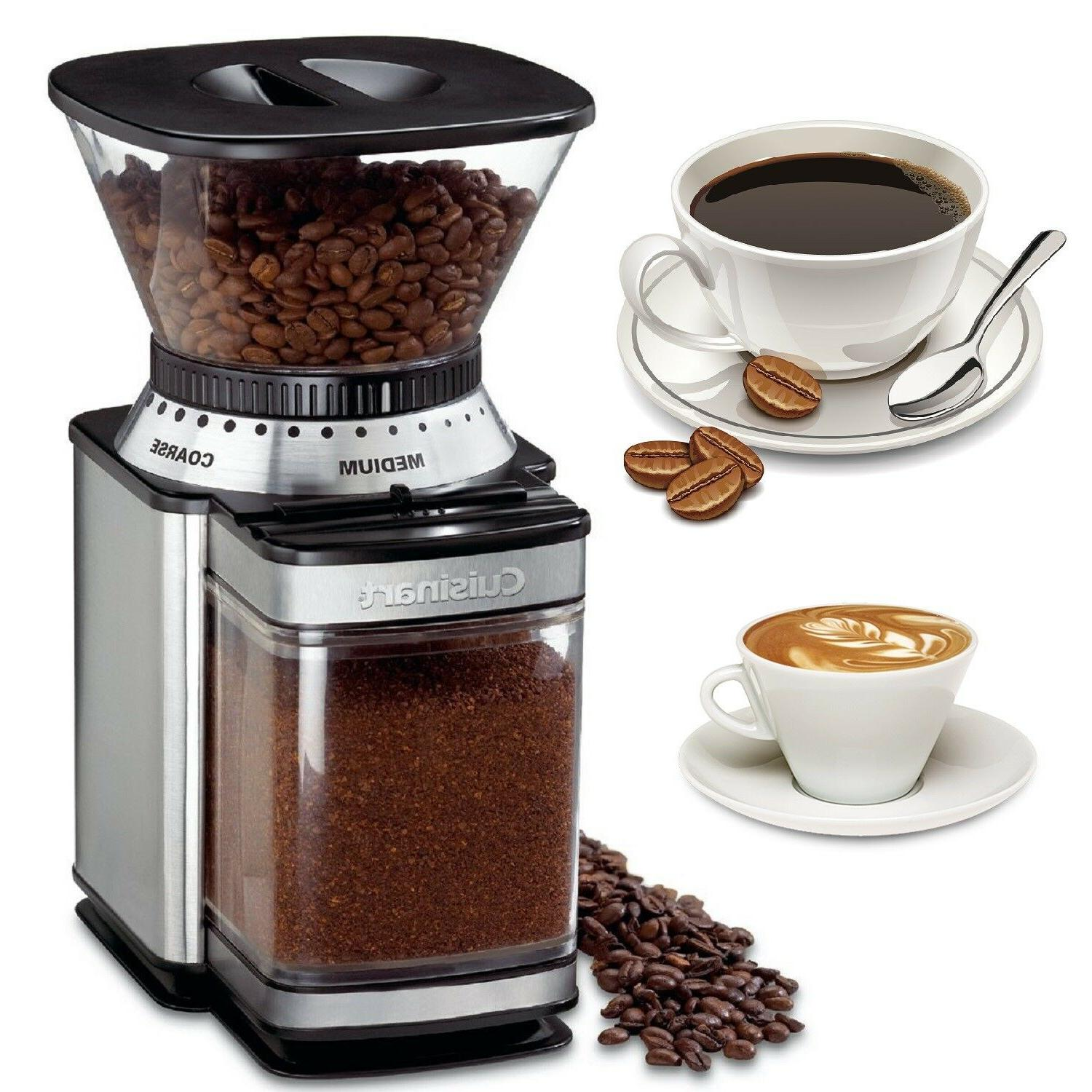 commercial coffee grinder electric automatic burr mill