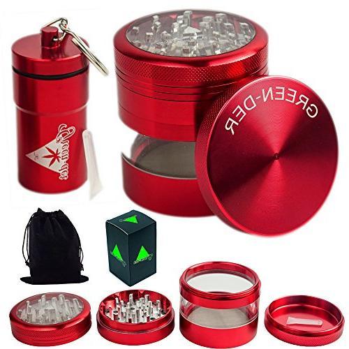 cool herb grinder set